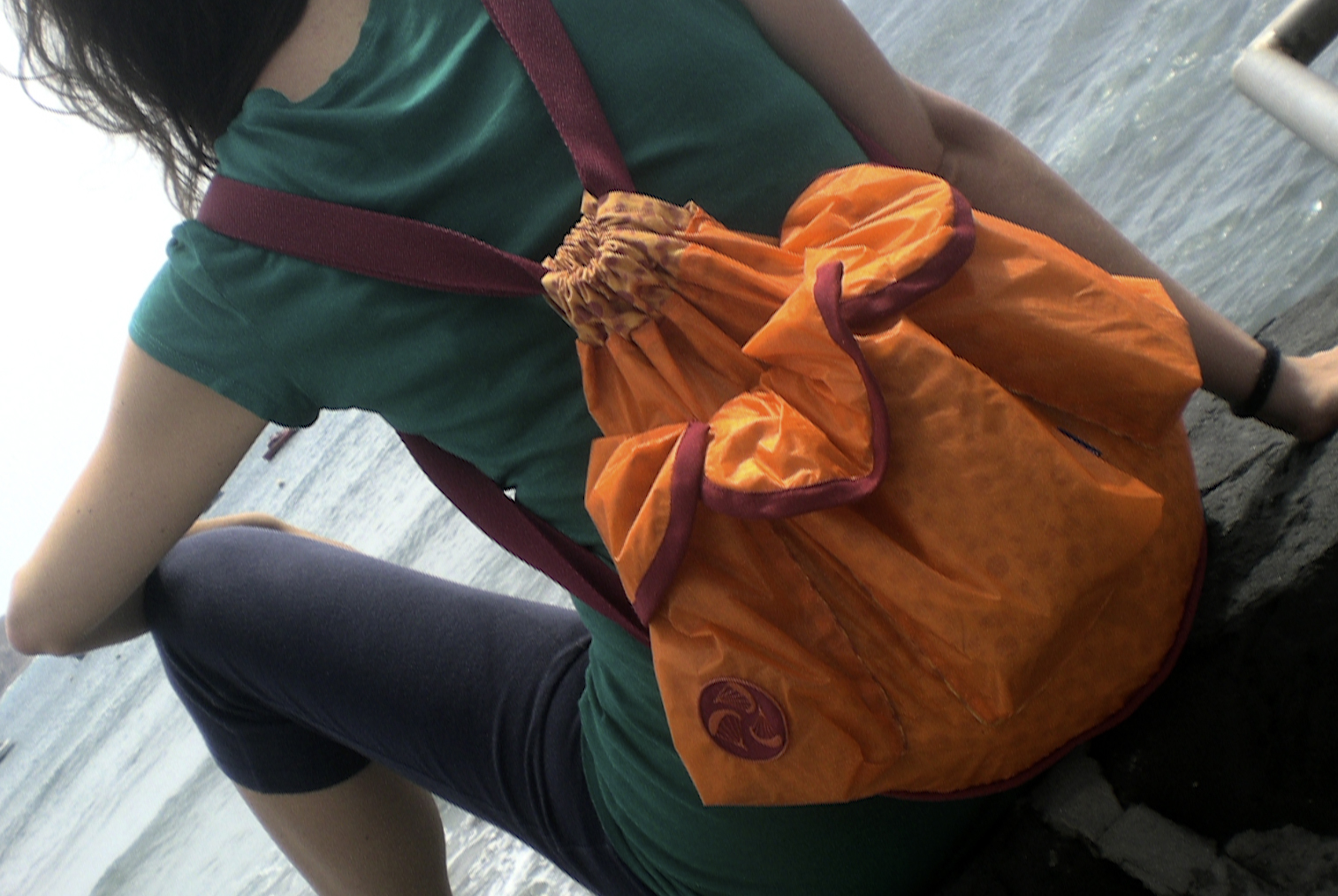 Saco Backpack Orange