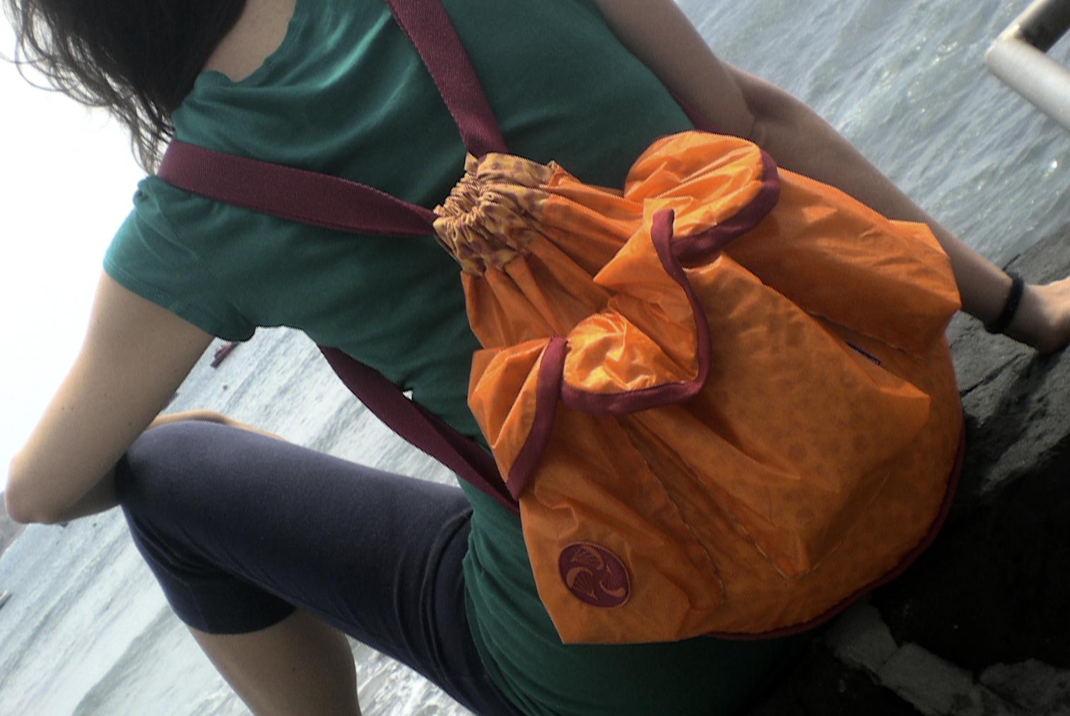 Saco Backpack Orange