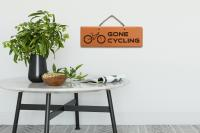 Sign - Gone Cycling