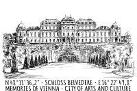 Postcard Belvedere (Set of 5)