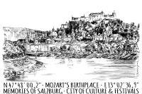 Postcard - Salzburg (Set of 5)