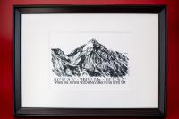 Postkarte - Serles Tirol (Set of 5)