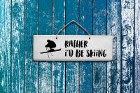 Sign - Rather Skiing