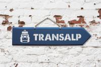 Wegweiser - Transalp