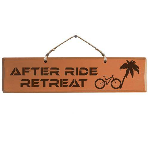 Sign - After Ride Retreat