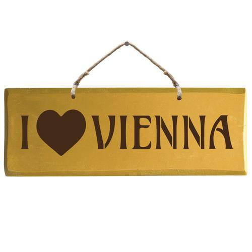 Sign - I love Vienna