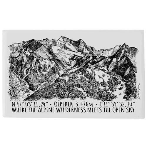 Plate - Olperer Tyrol