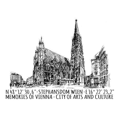 Postal - Stephansdom Viena (Pack de 5)