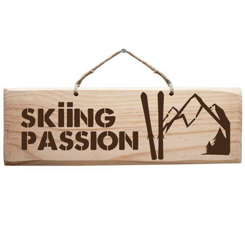 Sign - Skiing Passion