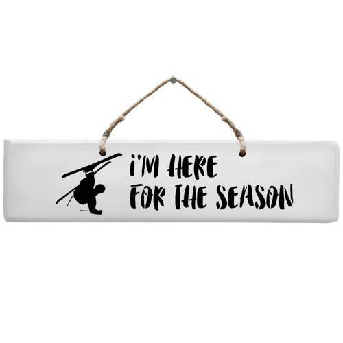 Sign - Ski Season