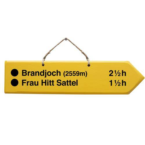 Arrow - Brandjoch