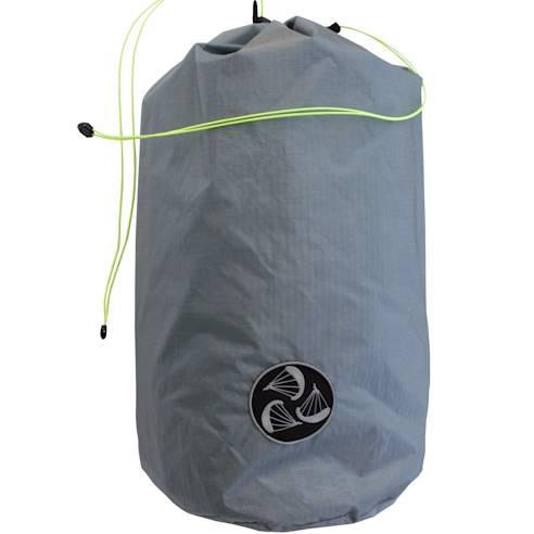 Dry sac size L grey